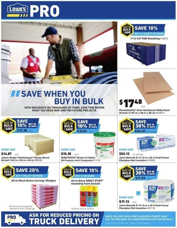 Lowe's flyer 06 06 2019 - 06 12 2019 | Weekly-ads us