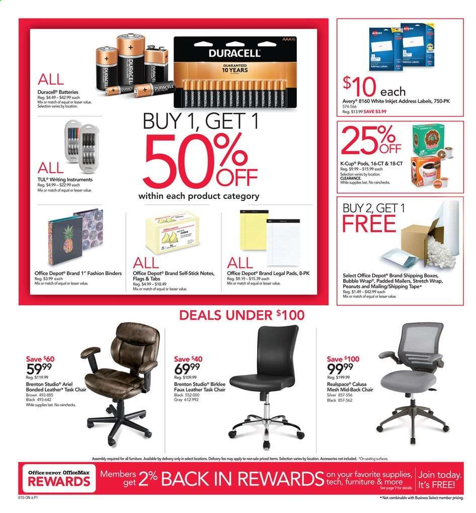 Office Depot Flyer 06 09 2019 06 15 2019 Weekly Ads Us