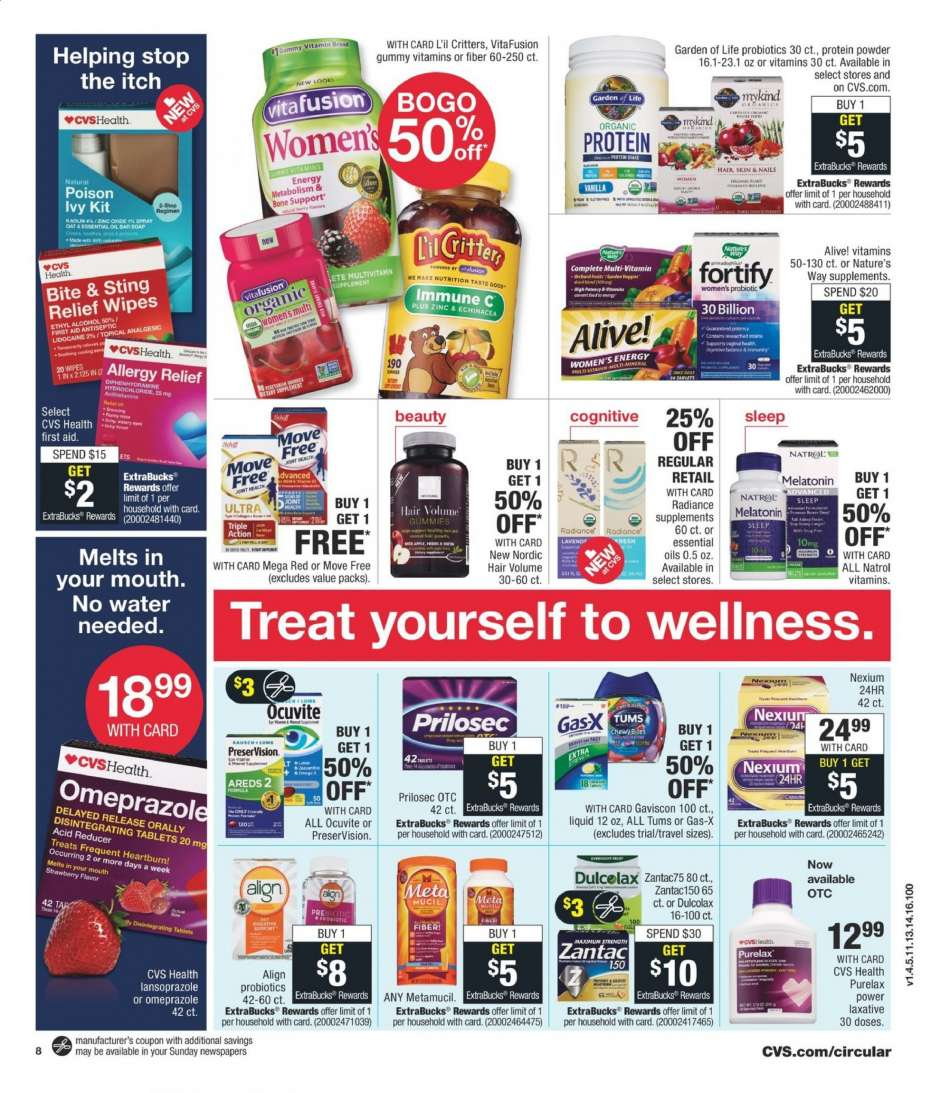 CVS Pharmacy flyer 06 09 2019 - 06 15 2019 | Weekly-ads us