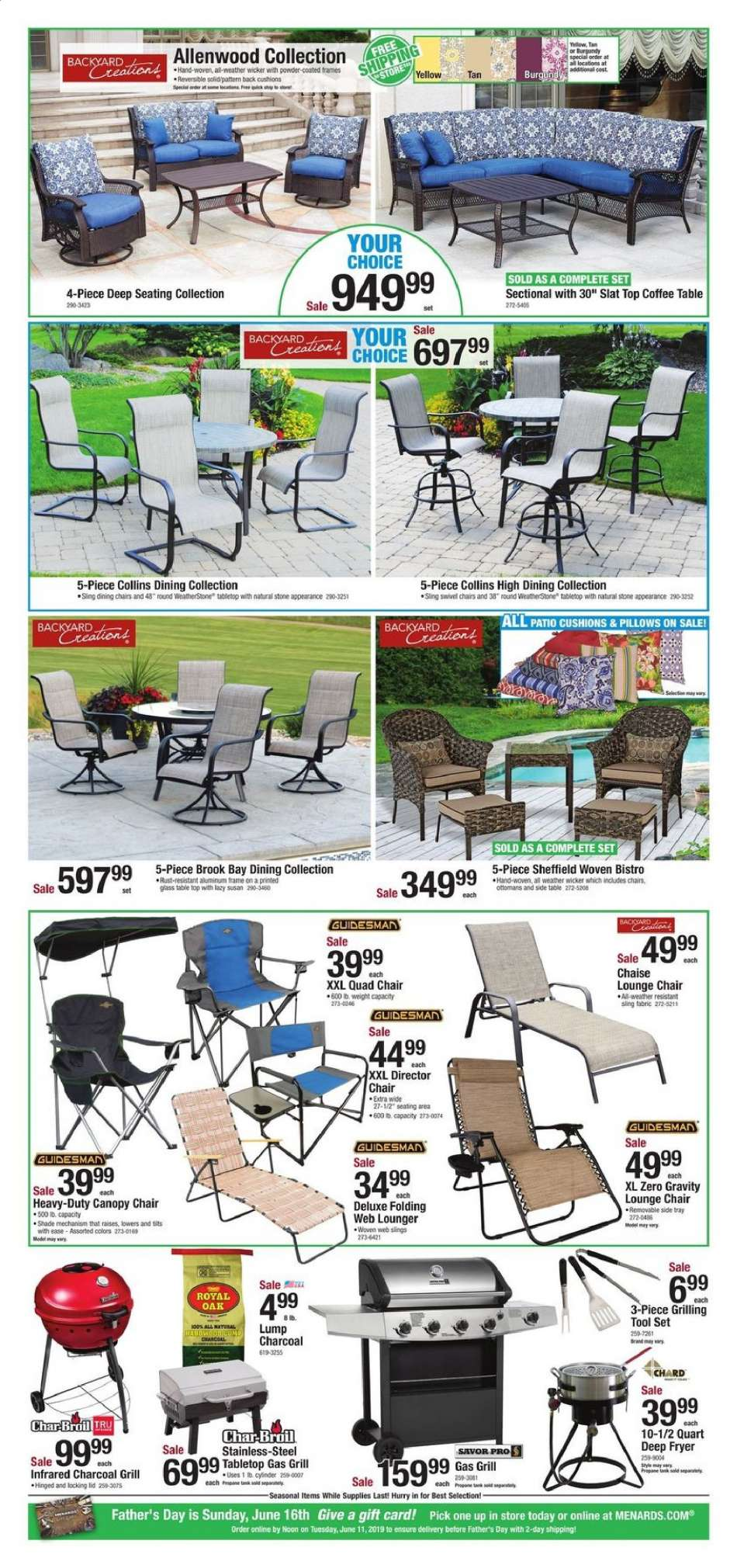 Awesome Menards Flyer 06 05 2019 06 15 2019 Weekly Ads Us Machost Co Dining Chair Design Ideas Machostcouk