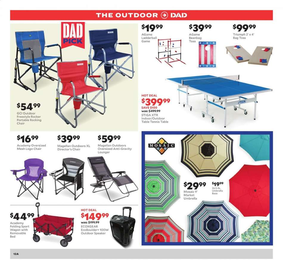 Remarkable Academy Sports Flyer 06 09 2019 06 15 2019 Weekly Ads Us Andrewgaddart Wooden Chair Designs For Living Room Andrewgaddartcom