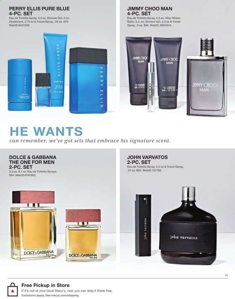072bc89119df Macy's Flyer - 06.11.2019 - 06.16.2019 - Sales products - after shave