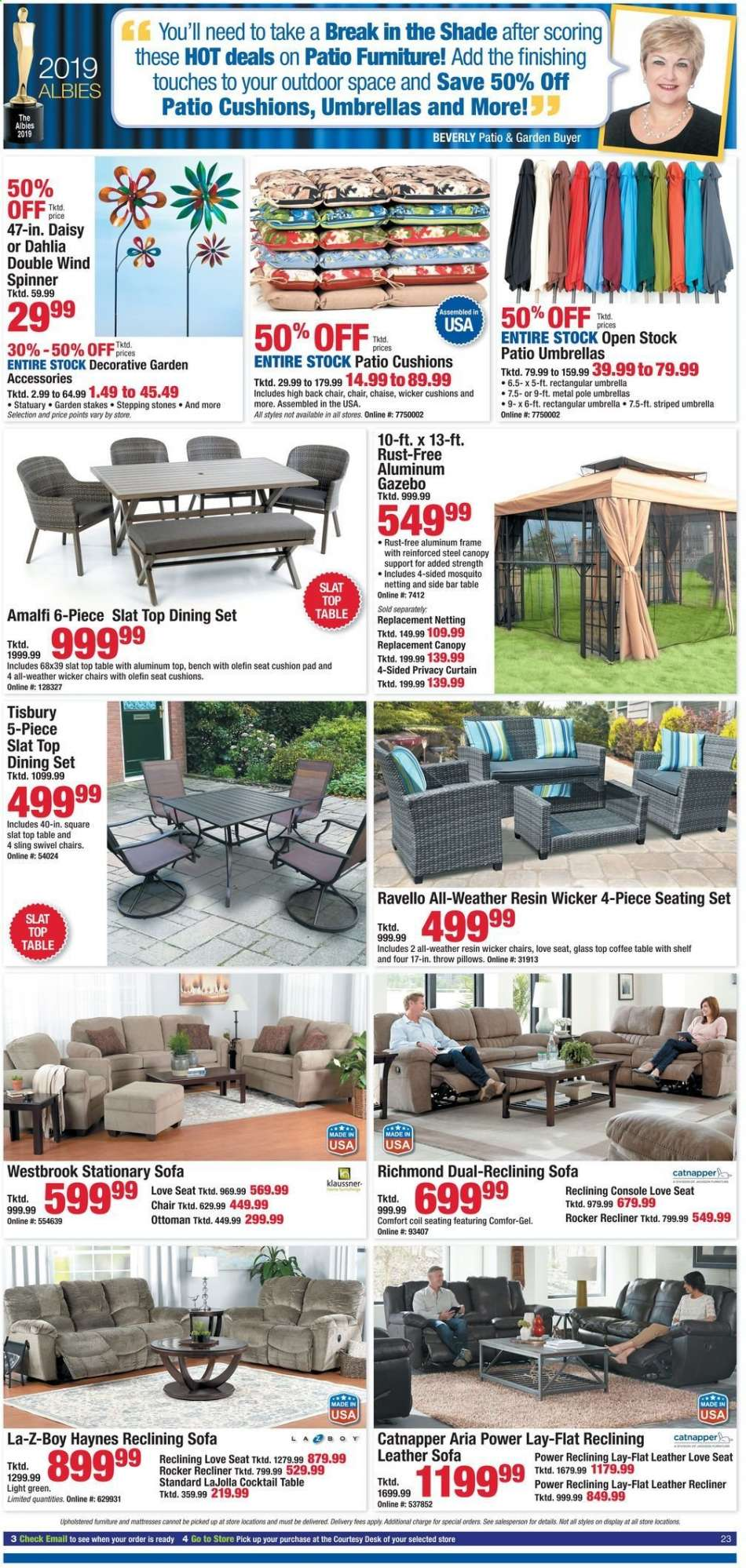 Amazing Boscovs Flyer 06 12 2019 06 16 2019 Weekly Ads Us Ocoug Best Dining Table And Chair Ideas Images Ocougorg