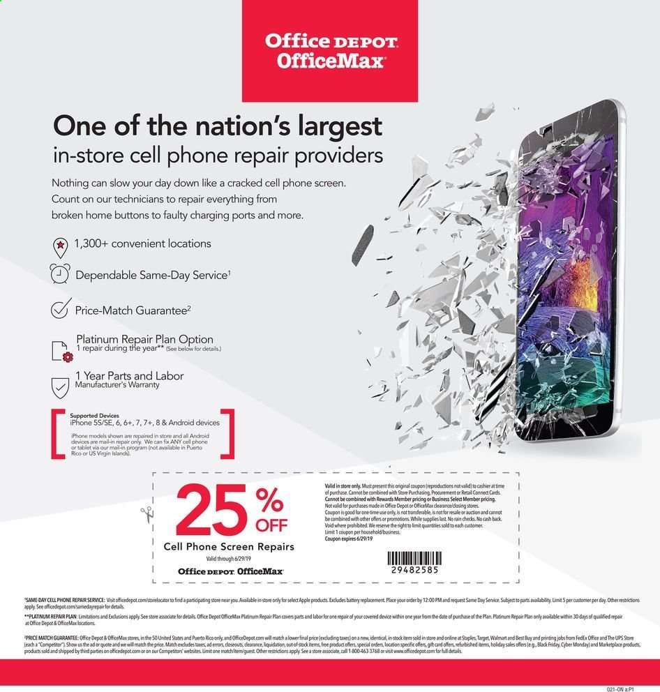 Office DEPOT flyer 06 16 2019 - 06 22 2019 | Weekly-ads us