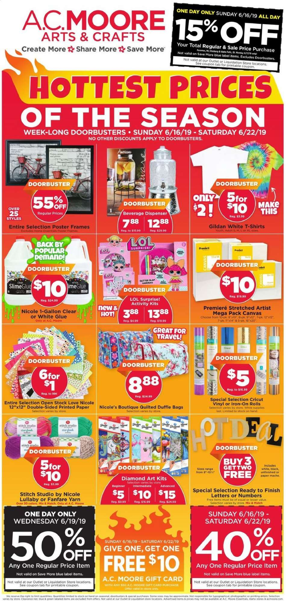 A C  Moore flyer 06 16 2019 - 06 22 2019   Weekly-ads us