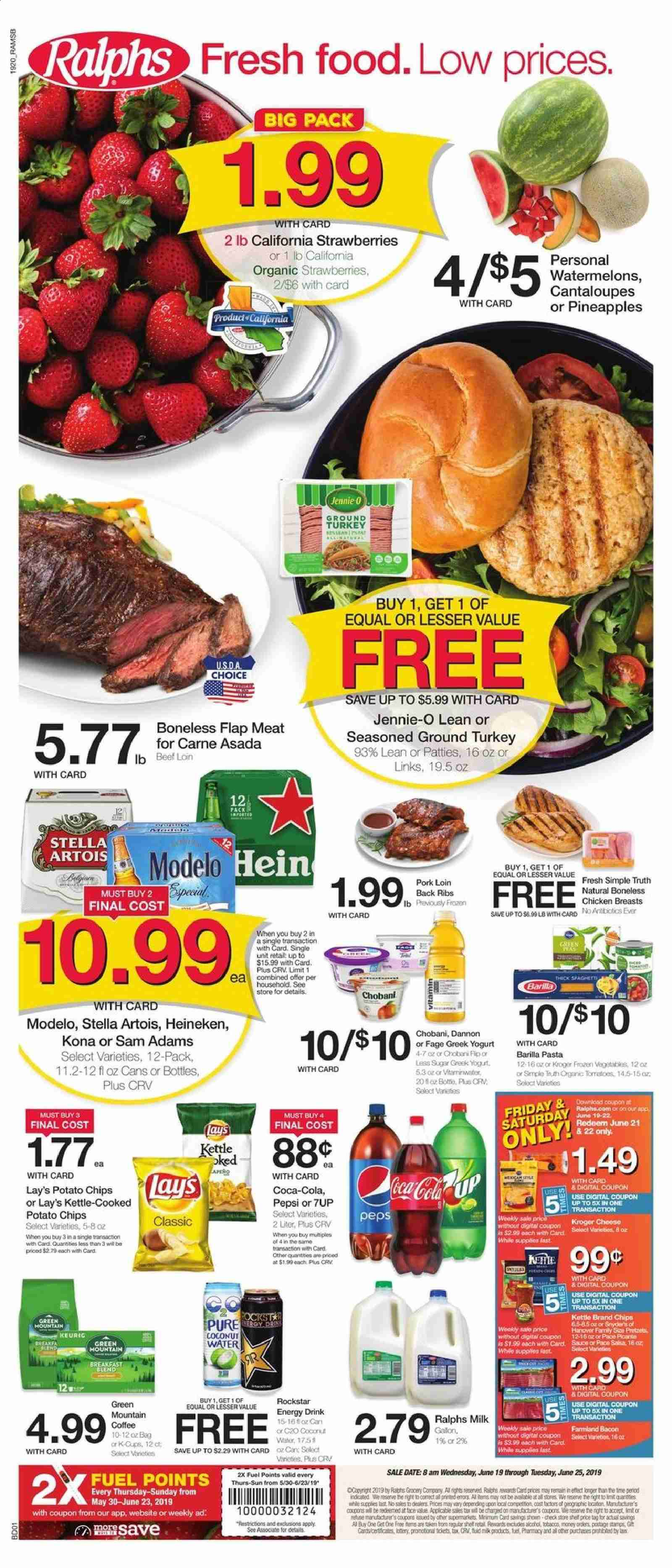Ralphs Flyer  - 06.19.2019 - 06.25.2019. Page 1.