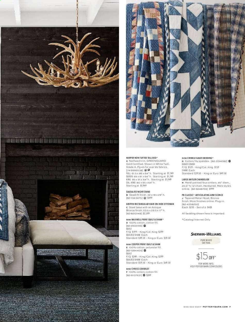 Magnificent Pottery Barn Flyer 06 01 2019 06 30 2019 Weekly Ads Us Gmtry Best Dining Table And Chair Ideas Images Gmtryco