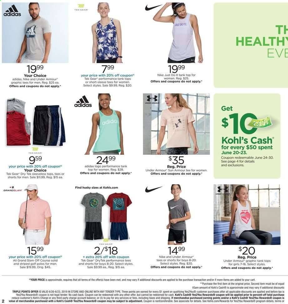Kohl's flyer 06 20 2019 - 06 23 2019 | Weekly-ads us