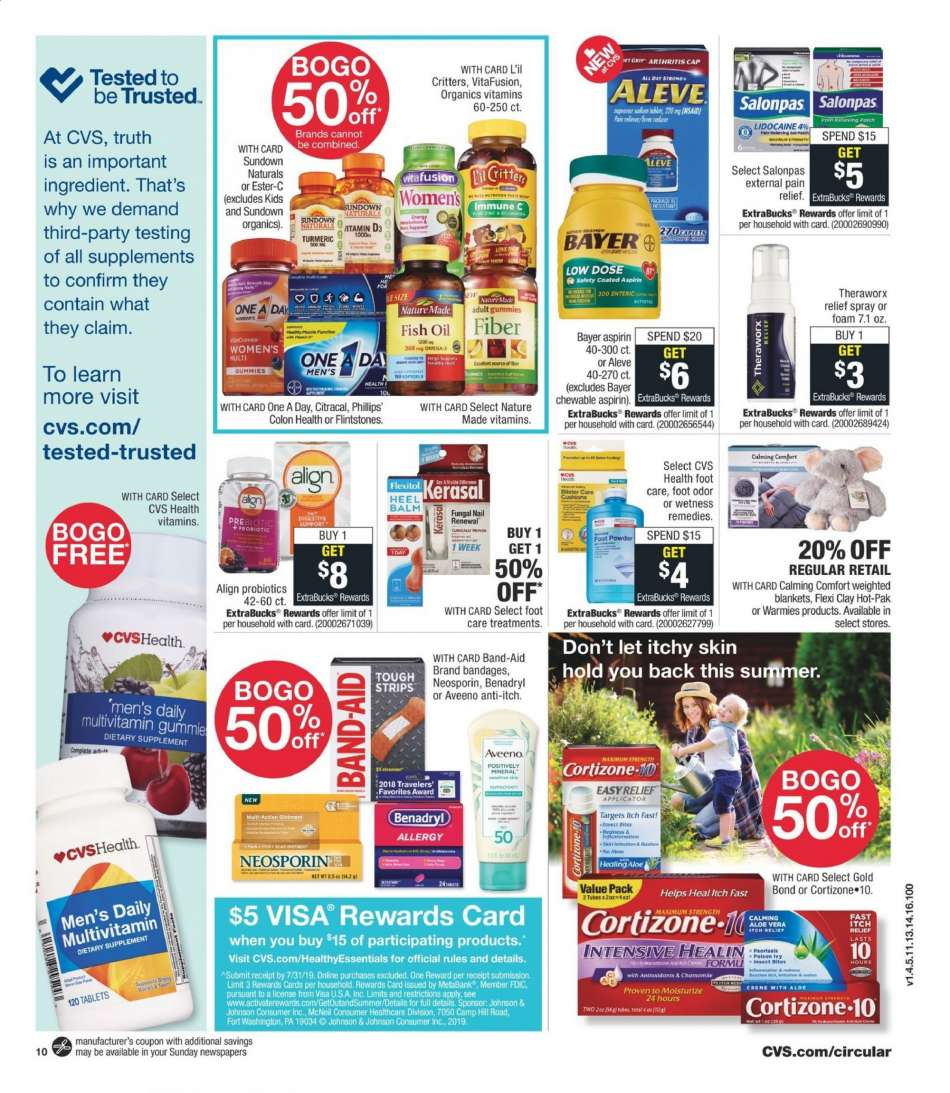 CVS Pharmacy flyer 06 23 2019 - 06 29 2019 | Weekly-ads us