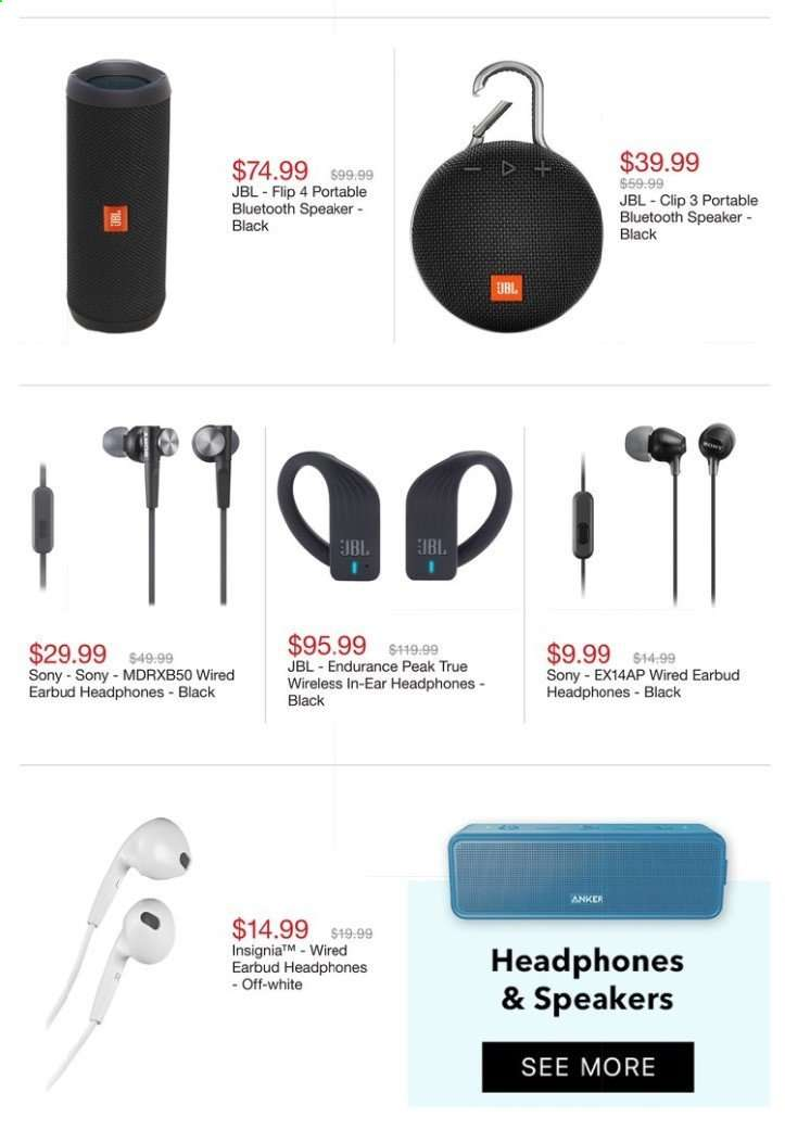 d36cb7b78eb Best Buy Flyer - 06.23.2019 - 06.29.2019 - Sales products - bluetooth