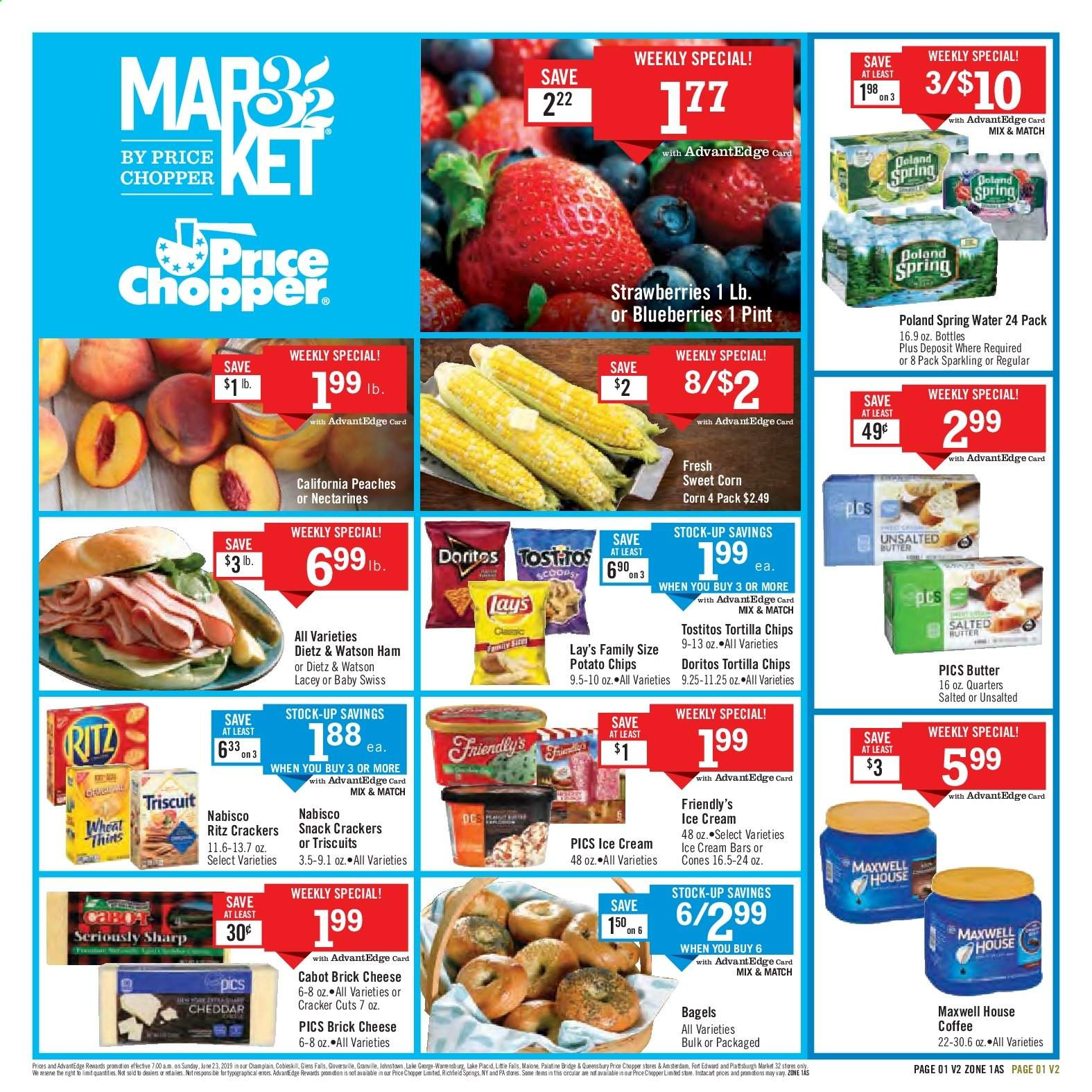 Price Chopper Flyer  - 06.23.2019 - 06.29.2019. Page 1.
