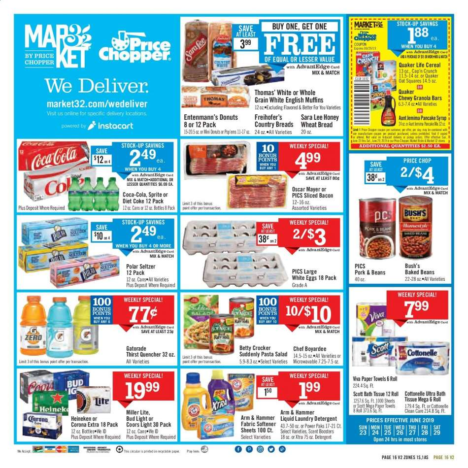 Price Chopper flyer 06 23 2019 - 06 29 2019 | Weekly-ads us