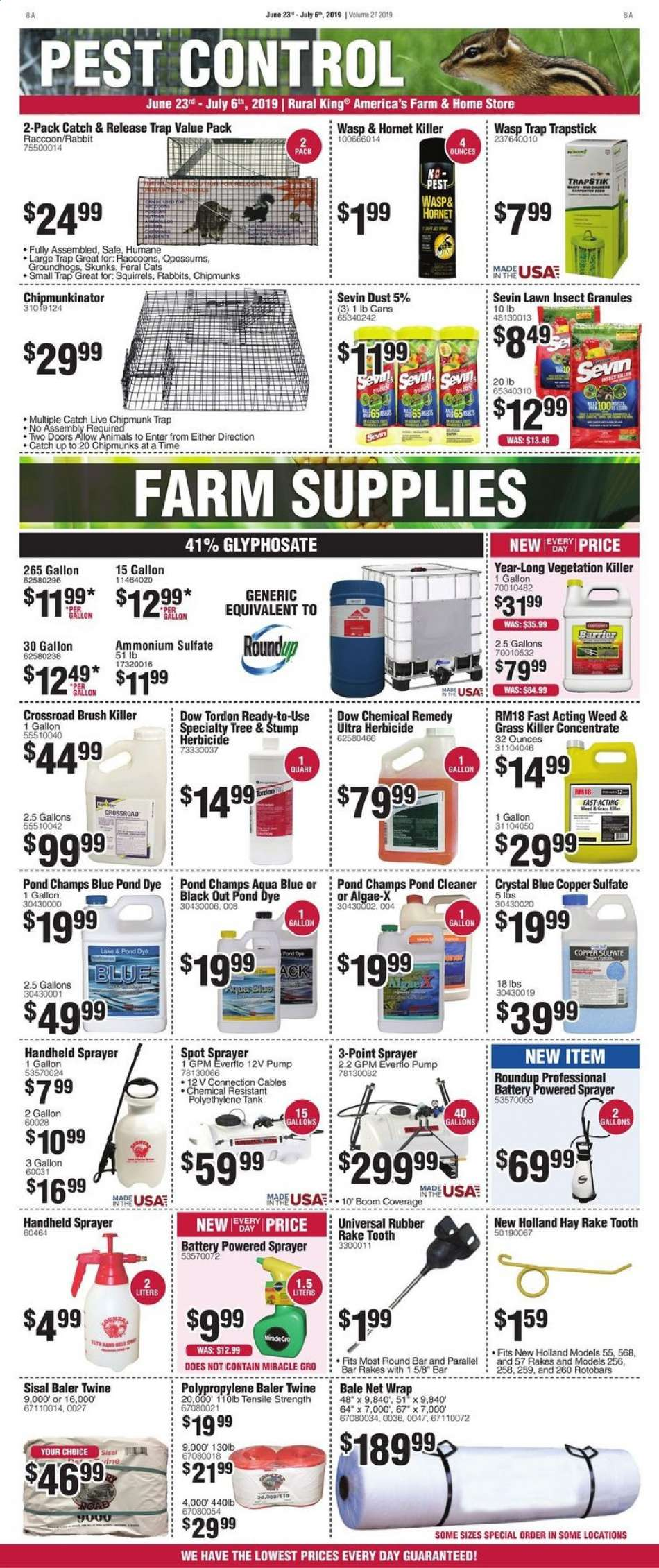 Rural King flyer 06 23 2019 - 07 06 2019 | Weekly-ads us