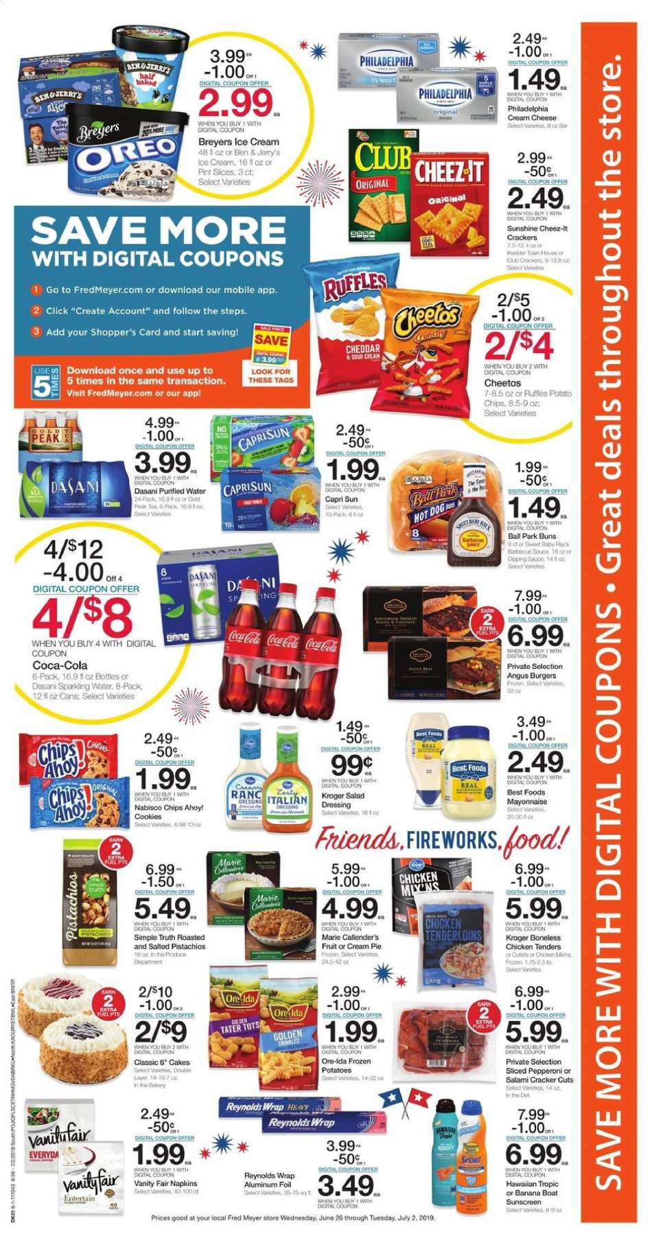 Fred Meyer Weekly Ad April 21 - 27, 12222