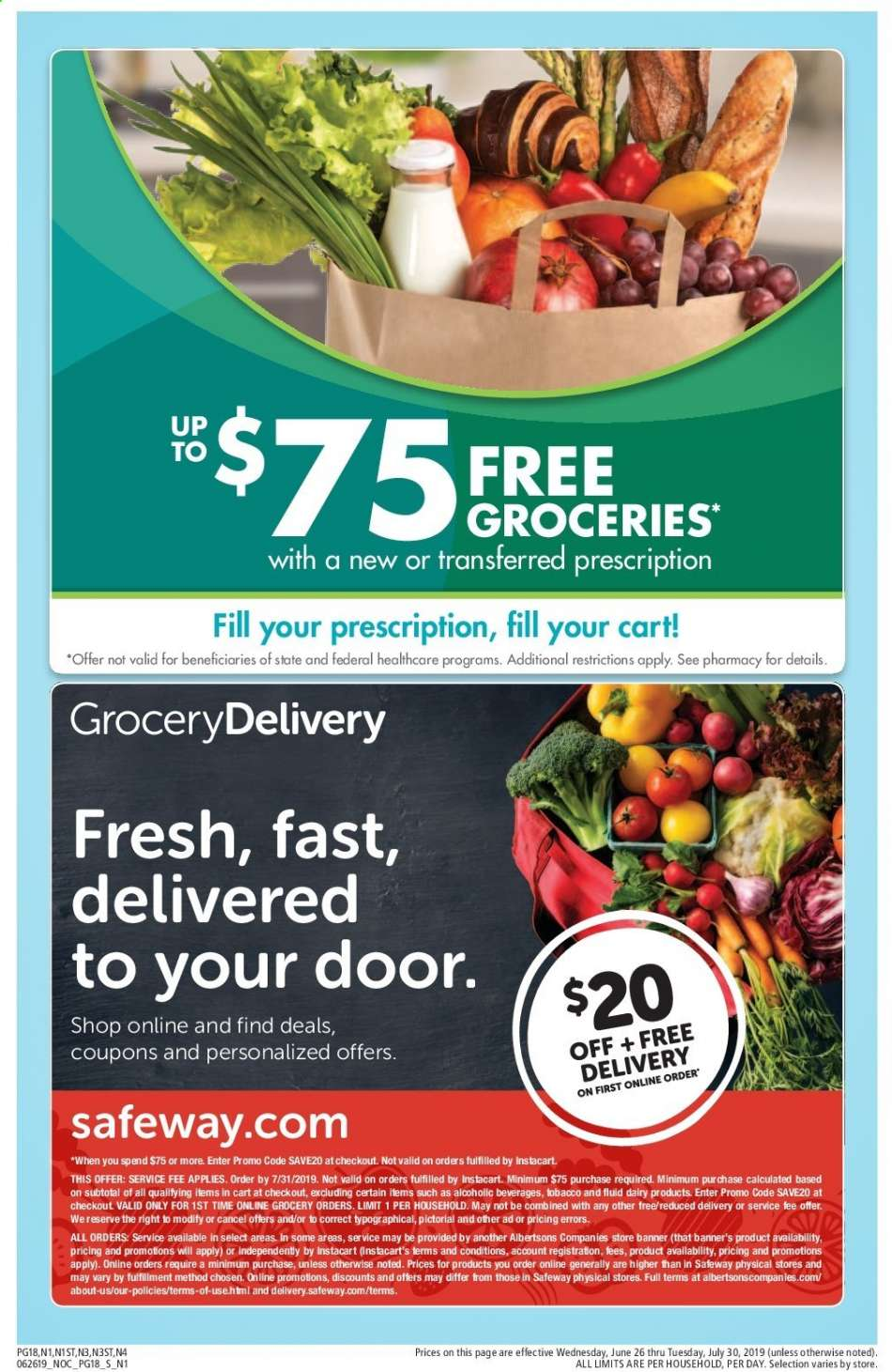 Safeway flyer 06 26 2019 - 07 30 2019 | Weekly-ads us