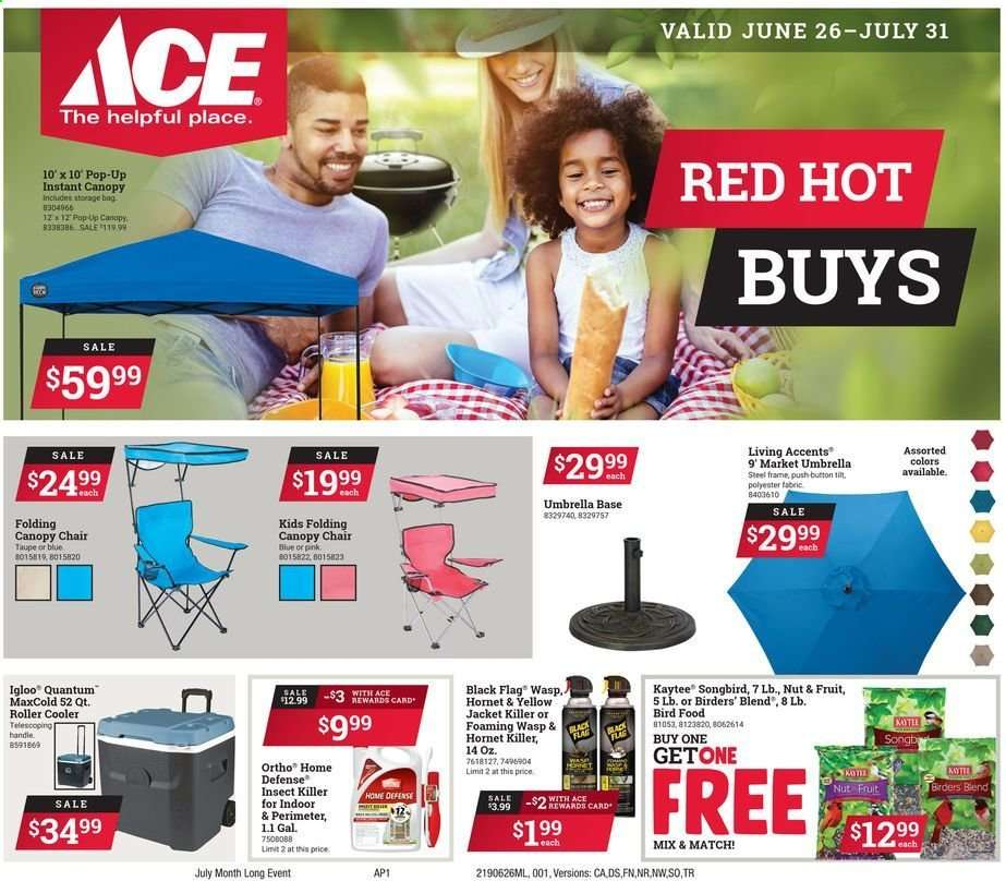 more photos b3257 eafd0 ACE Hardware flyer 06.26.2019 - 07.31.2019 | Weekly-ads.us