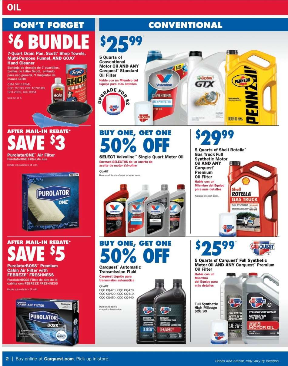 Car Quest flyer 06 27 2019 - 07 31 2019 | Weekly-ads us