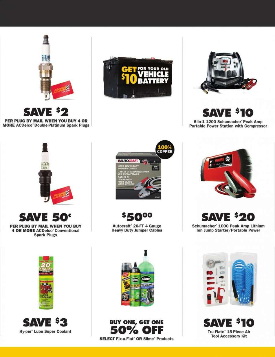 Advance Auto Parts flyer 06 27 2019 - 07 31 2019 | Weekly-ads us