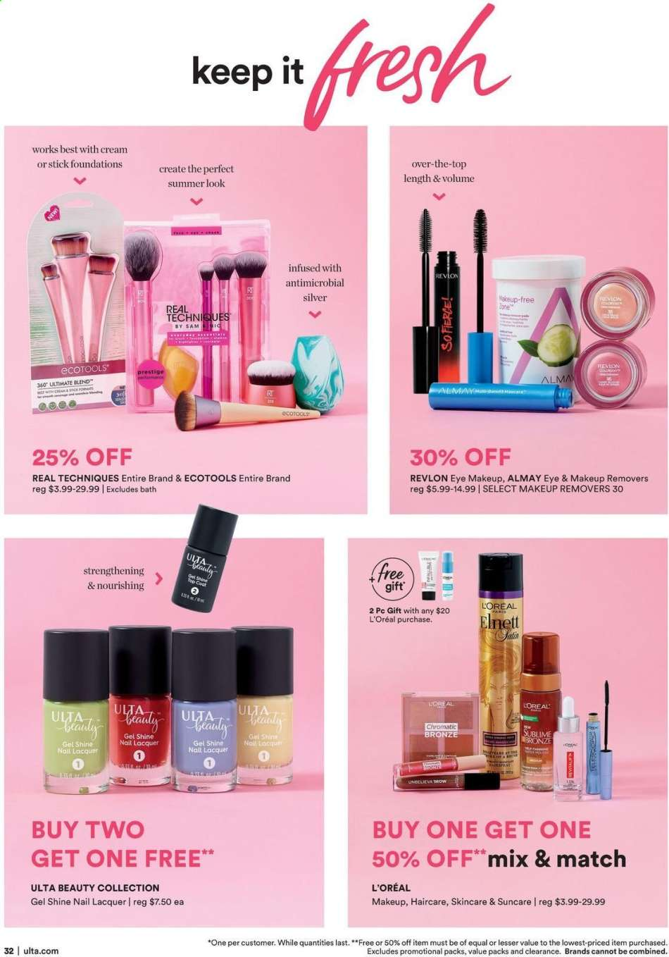 ae91911654a Ulta Beauty Flyer - 06.30.2019 - 07.20.2019 - Sales products - almay