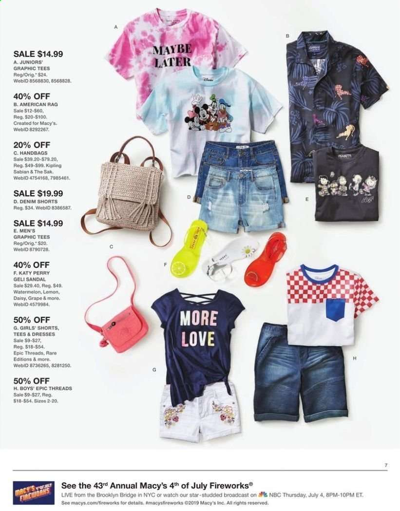 Macy's flyer 07 02 2019 - 07 07 2019 | Weekly-ads us