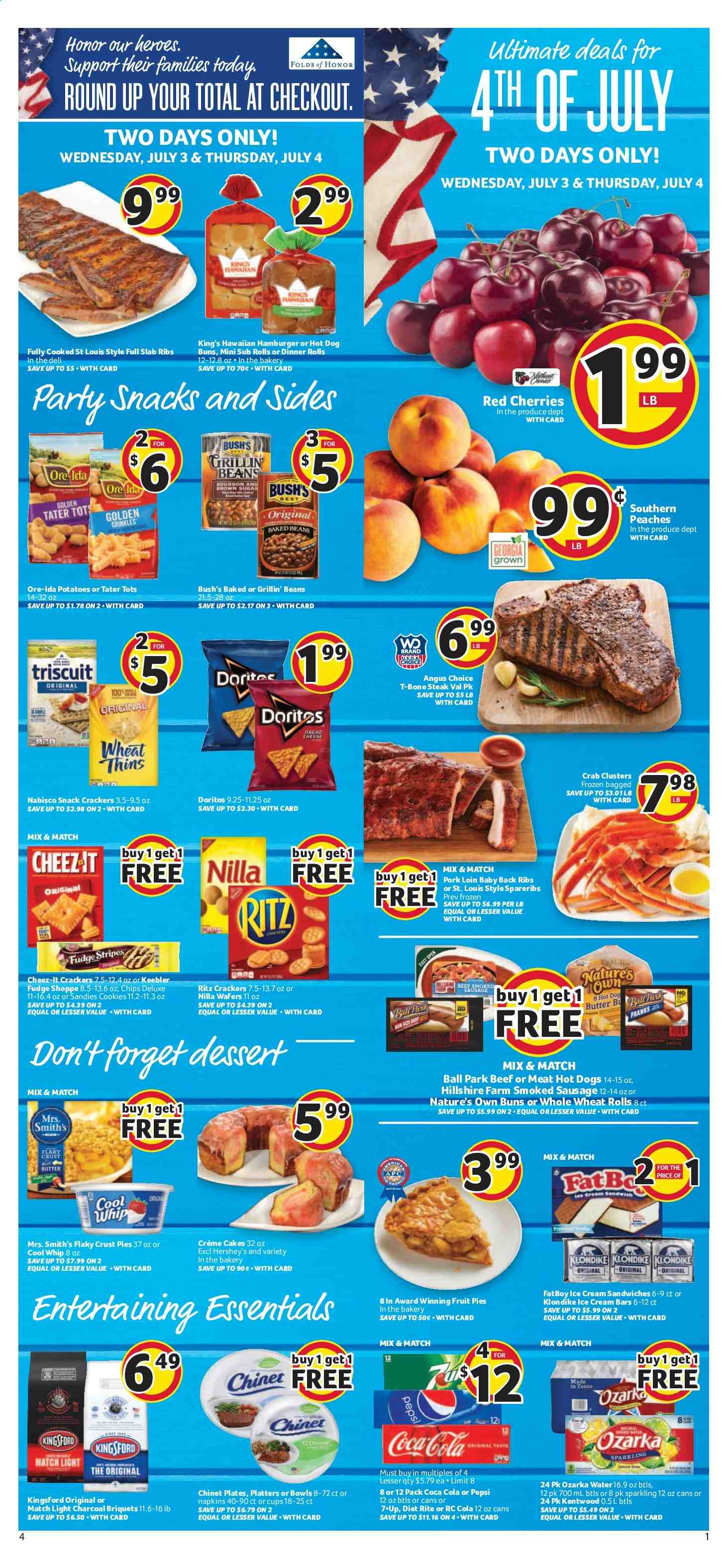 Winn Dixie Flyer  - 07.03.2019 - 07.09.2019. Page 1.