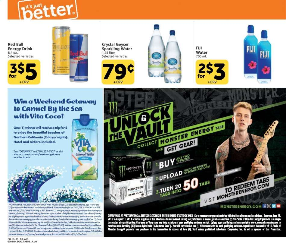 Albertsons flyer 07 03 2019 - 07 23 2019 | Weekly-ads us