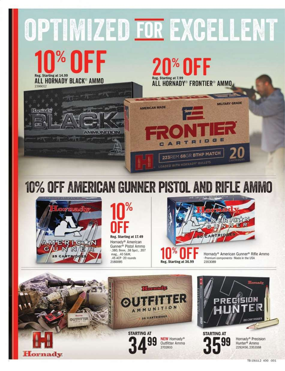 Cabela's flyer 07 05 2019 - 07 14 2019 | Weekly-ads us