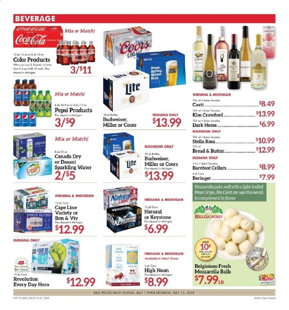 Martin's flyer 07 07 2019 - 07 13 2019 | Weekly-ads us