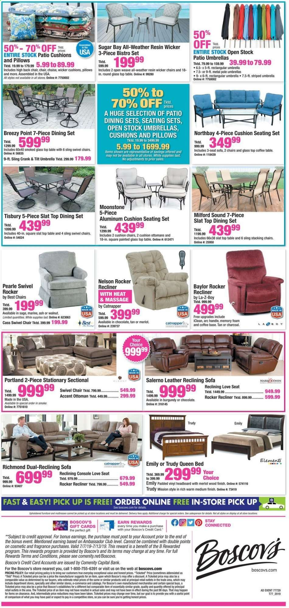 Surprising Boscovs Flyer 07 05 2019 07 14 2019 Weekly Ads Us Gmtry Best Dining Table And Chair Ideas Images Gmtryco