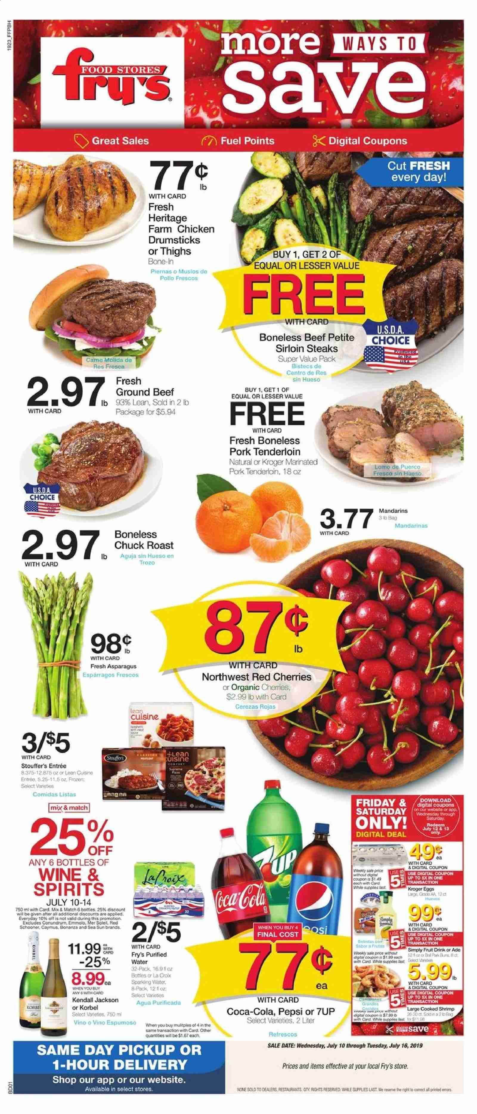 Fry's Flyer  - 07.10.2019 - 07.16.2019. Page 1.