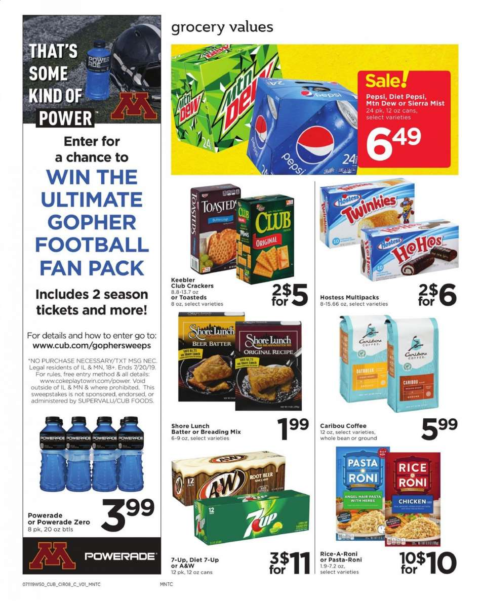 Cub Foods flyer 07 11 2019 - 07 17 2019 | Weekly-ads us