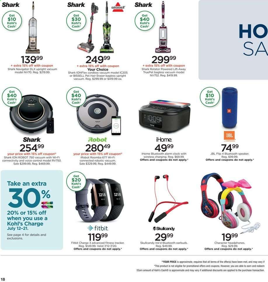 Kohl's flyer 07 12 2019 - 07 21 2019 | Weekly-ads us